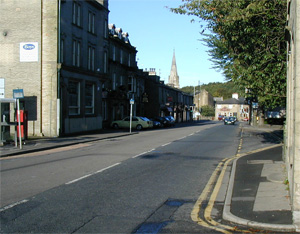 Waterfoot town centre