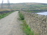 On the Causway Clowbridge res, follow your eyes to the top of the climb and beond to Comptons Cross