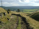 Looking down the Lumb Valley, with Cowpe in the distance, on the Mary Towneley Loop