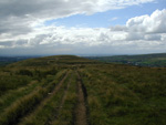 On top of Hades Middle Hill, looking at Brown wardle and the Planes of Irlam beyond.