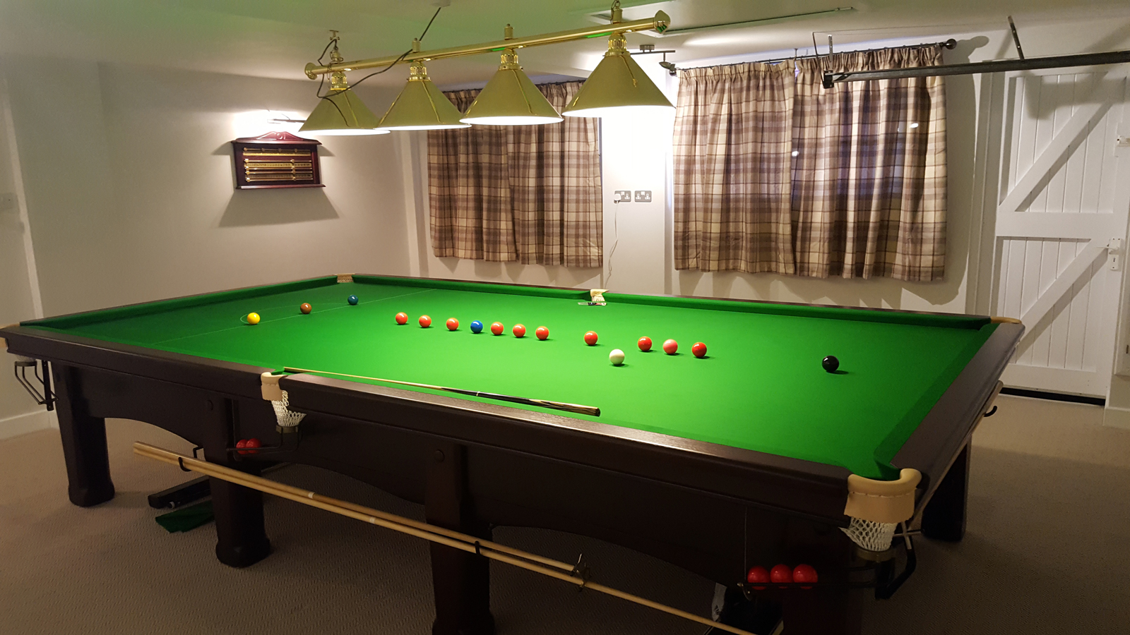 Snooker Table Manufacturers Accrington EJ Riley Antique - Pool table wanted