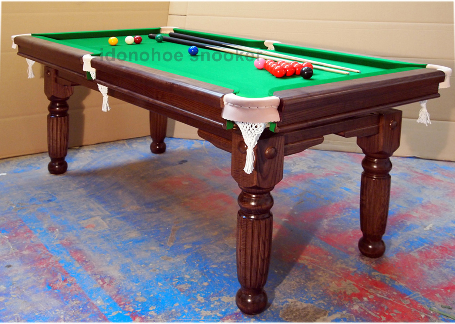6ft,7ft U0026 8ft Sovereign Majestic Snooker Dining Table, Oak, Ash Or Mahogany