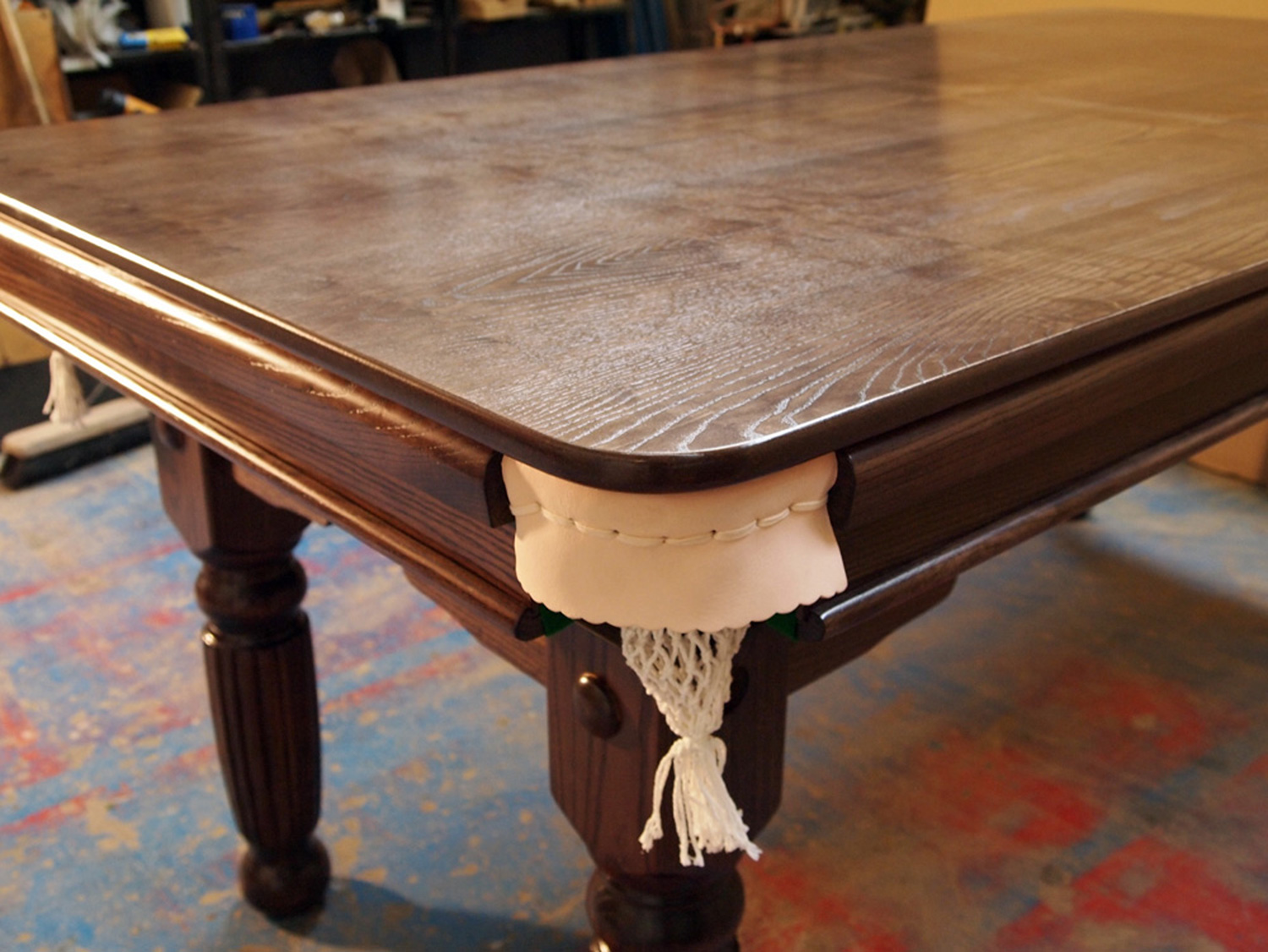 new 6ft & 7ft solid oak, ash or mahogany snooker dining table for 6ft Dining Table