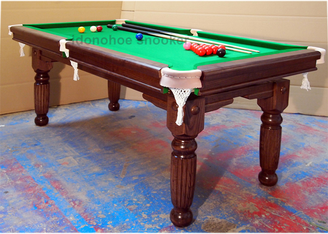 New 6ft 7ft 8ft Snooker Dining Table Solid Oak Ash Or Mahogany For Sale From Idonohoe Snooker Accrington