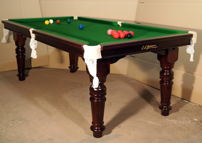 5ft E J Riley Snooker Dining Table Antique Refurbished