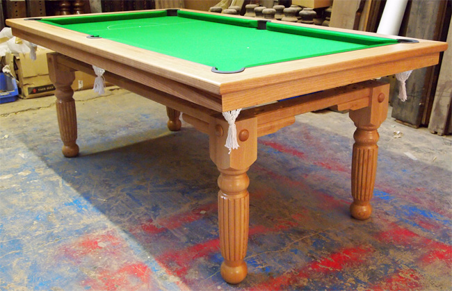 6ft 7ft 8ft Artisan Sovereign Majestic Pool Tables 6ft 7ft 8ft Pool Dining Table For Sale In Oak Walnut Ash Or Mahogany