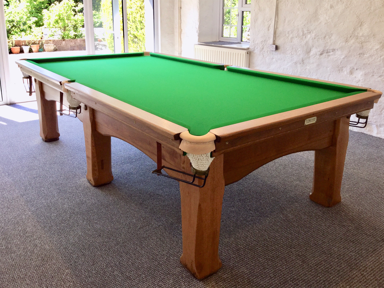 Snooker Table Manufacturers Accrington EJ Riley Antique - Bar billiards table for sale usa