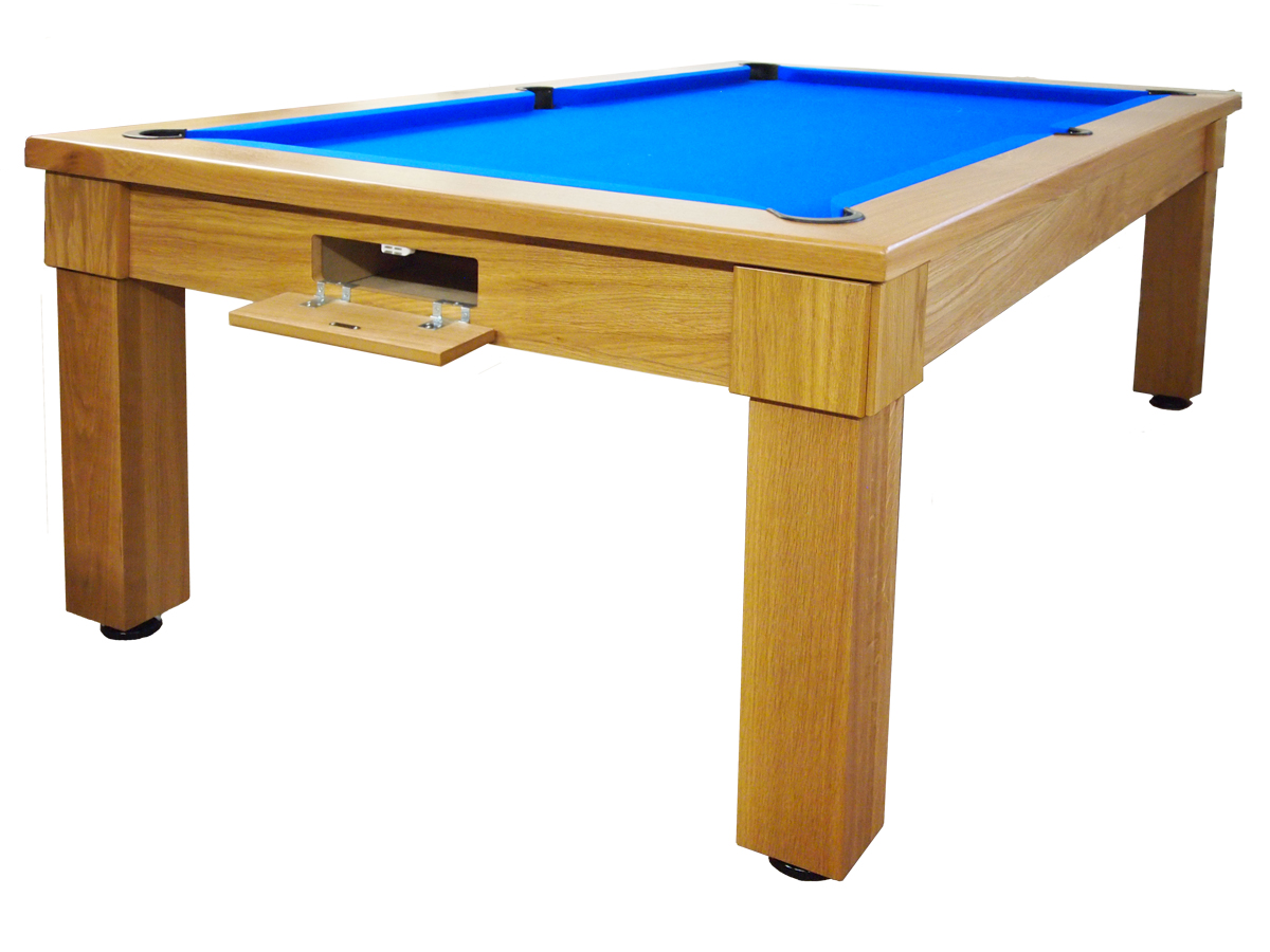 Ft Ft And Ft Solid Oak Pool Dining Table For Sale Handmade - Pool dining table 7ft