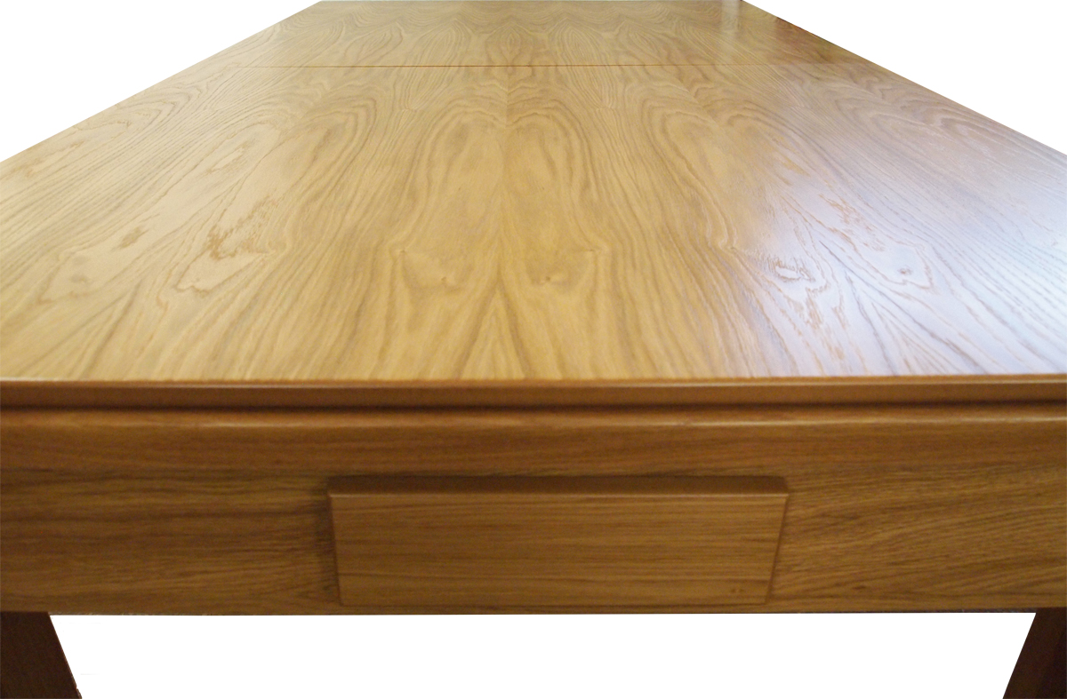 6ft And 7ft Solid Oak Pool Dining Table For Sale Handmade Delivery